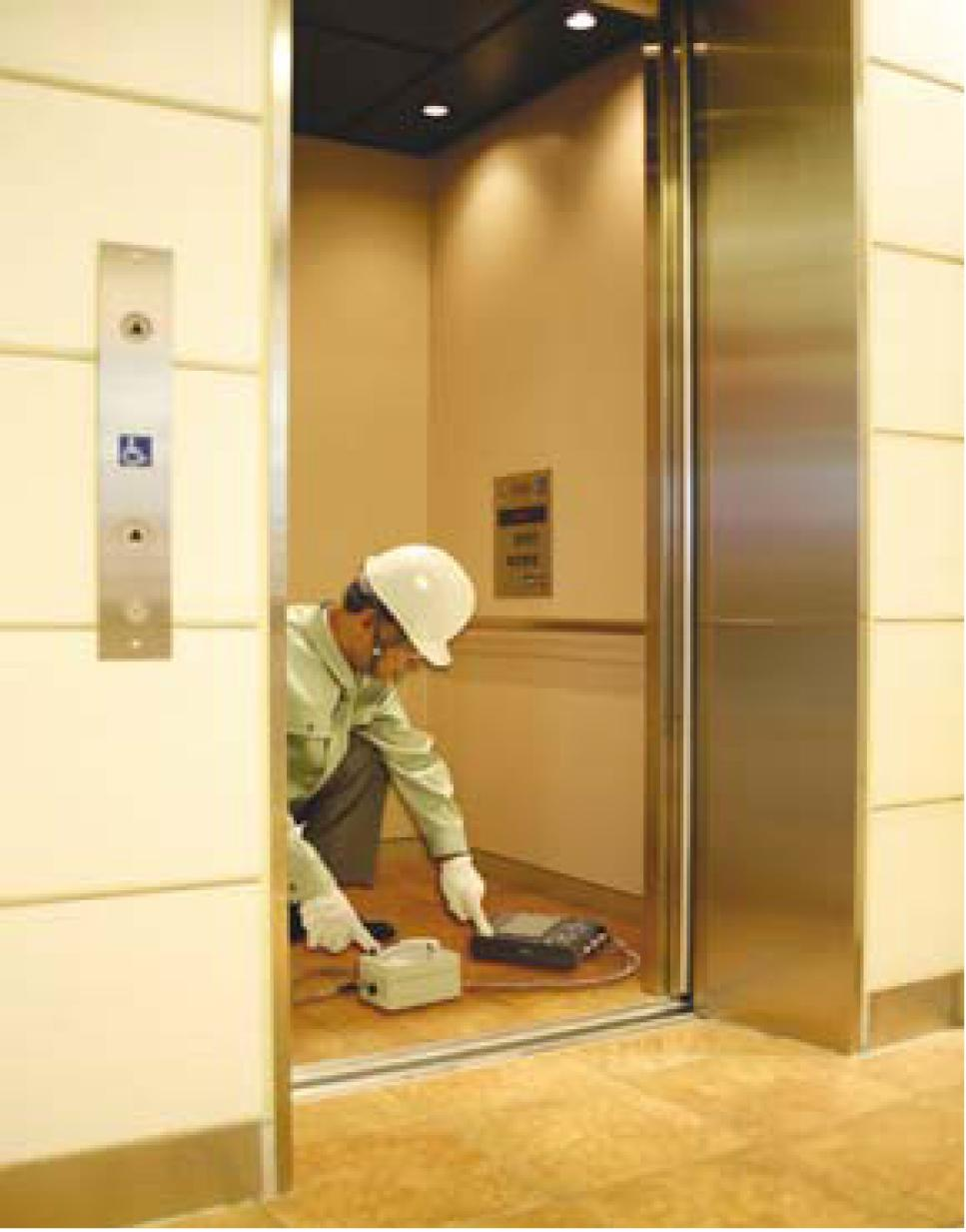 Measure The Vibration Of An Elevator To Analyze Ride Comfort Hioki